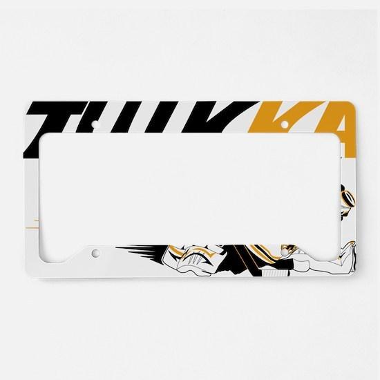 Cute Hockey goalie License Plate Holder
