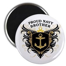 Proud Navy Brother Magnet