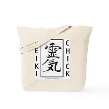 Reiki Chick Tote Bag