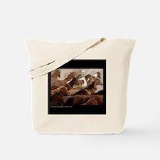 HORSE ROUNDUP Tote Bag