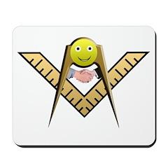 Masonic Happy Mason Mousepad