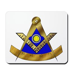 Masonic Past Master W/Square Mousepad