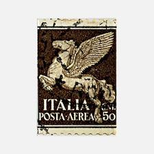 Pegasus Stamp Rectangle Magnet