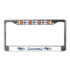 Unique Suomi License Plate Frame