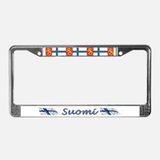 Cute Denmark License Plate Frame