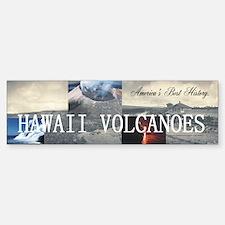 ABH Hawaii Volcanoes Bumper Bumper Sticker