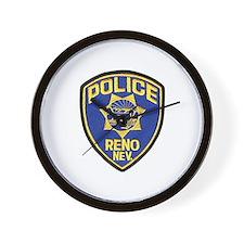 Reno Police Wall Clock