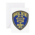 Reno Police Greeting Card