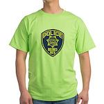 Reno Police Green T-Shirt