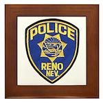 Reno Police Framed Tile