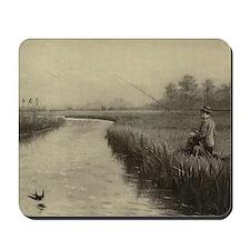 Fly Fishing Art Mousepad