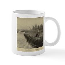 Fly Fishing Art Mug