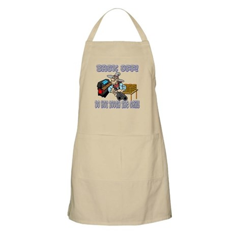 Back Off! My Grill BBQ Apron