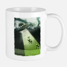 Comical Cow Abduction Mug