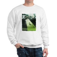 Comical Cow Abduction Sweatshirt