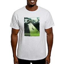 Comical Cow Abduction T-Shirt