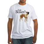 Got Boxer? Fitted T-Shirt