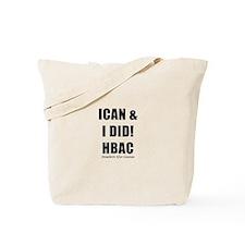 HBAC Homebirth After Cesarean VBAC Tote Bag