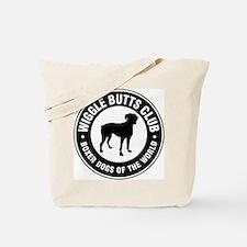 Wiggle Butts Club Tote Bag