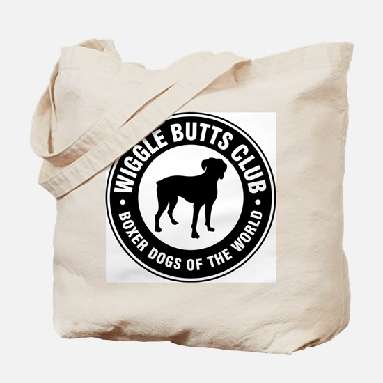 Wiggle Butts Club Tote Bag