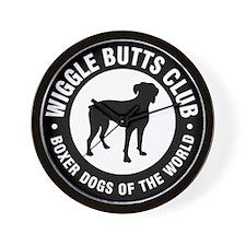 Wiggle Butts Club Wall Clock