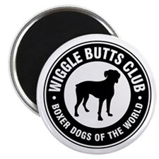 "Wiggle Butts Club 2.25"" Magnet (10 pack)"