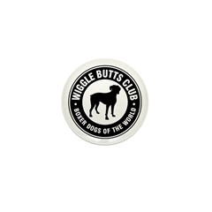 Wiggle Butts Club Mini Button (10 pack)