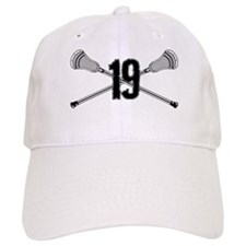 Lacrosse Number 19 Baseball Cap
