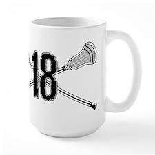Lacrosse Number 18 Mug