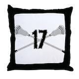 Lacrosse Throw Pillows