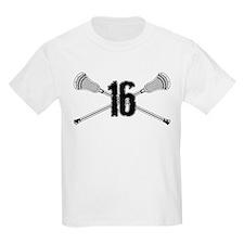 Lacrosse Number 16 T-Shirt