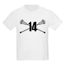 Lacrosse Number 14 T-Shirt