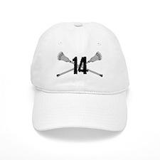 Lacrosse Number 14 Baseball Cap