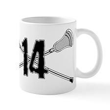 Lacrosse Number 14 Mug