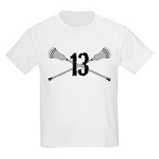Lacrosse Number 13 T-Shirt