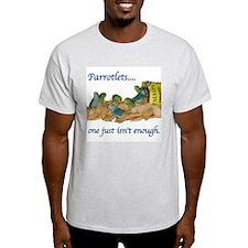 Parrotlets...one isn't enough Ash Grey T-Shirt