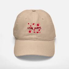Love Hurts Baseball Baseball Cap