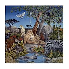 Peaceable Kingdom Tile Coaster