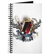 Cute Writing music Journal