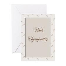 Sympathy Cards (Pk of 20)