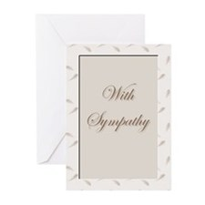 Sympathy Cards (Pk of 10)