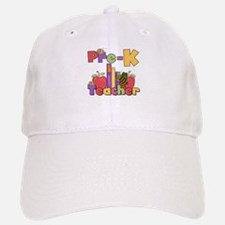 Preschool Teacher Baseball Baseball Cap