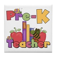 Preschool Teacher Tile Coaster
