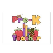 Preschool Teacher Postcards (Package of 8)