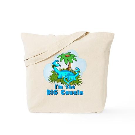 Big Cousin DINOSAURS Tote Bag