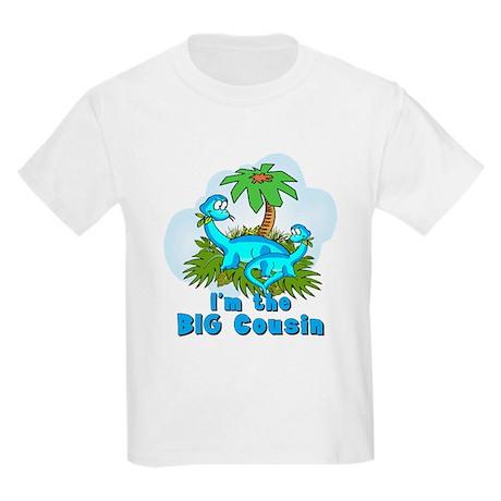 Big Cousin DINOSAURS Kids Light T-Shirt