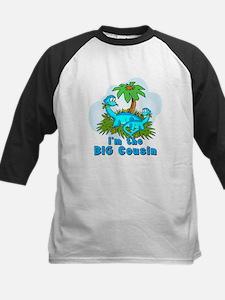 Big Cousin DINOSAURS Kids Baseball Jersey