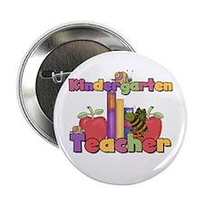 "Kindergarten Teacher 2.25"" Button"