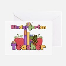 Kindergarten Teacher Greeting Card