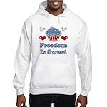 Freedom Is Sweet Americana Hooded Sweatshirt